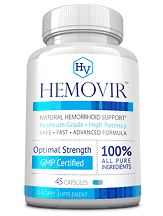Hemovir Natural Hemorrhoid Relief Review