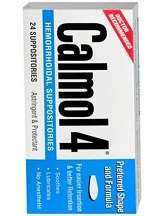 Calmol 4 Hemorrhoidal Suppositories Review