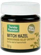 Thursday Plantation Witch Hazel Hemorrhoid Relief Ointment Review
